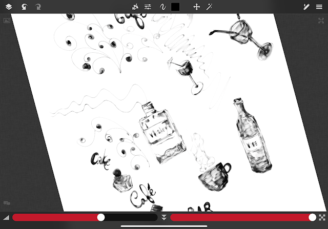Sketch Club iPad app