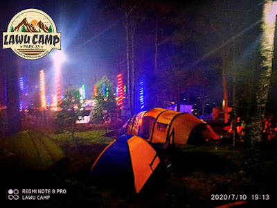 wisata lawu camp park tawangmangu