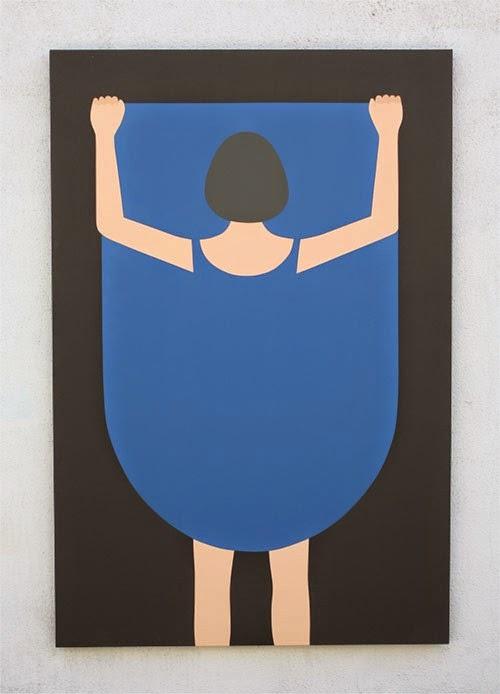 Ilustración minimalista Alessandro Gottardo