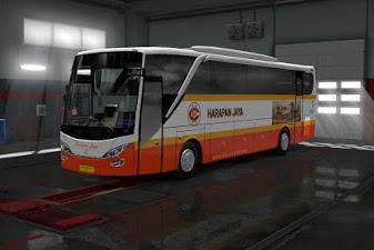 Livery Bus Harapan Jaya - Adiputro MB OH1626