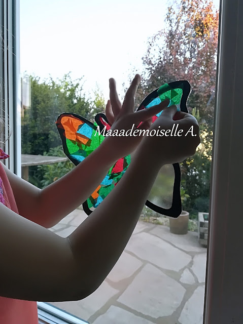 || Activité : Vitrail papillon