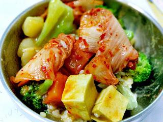 韓式泡菜當小菜配飯吃也很下飯!!