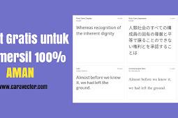Jangan asal download font! Inilah font yang 100% aman dan gratis (commercial use)