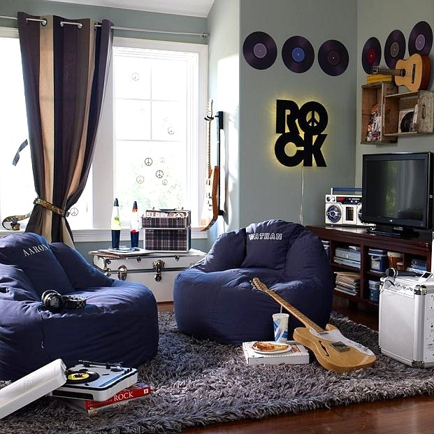 17 Best Ideas About Boys Blue Bedrooms On Pinterest: Arte E Decoração: Decoração Descolada