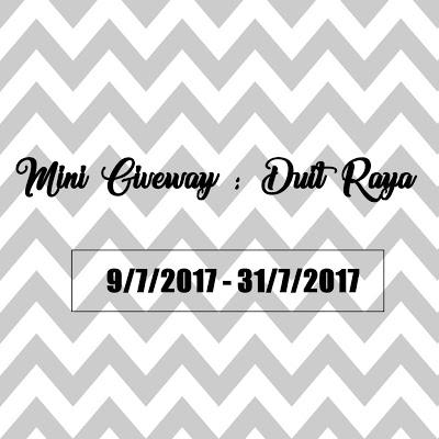 Mini Giveaway : Duit Raya