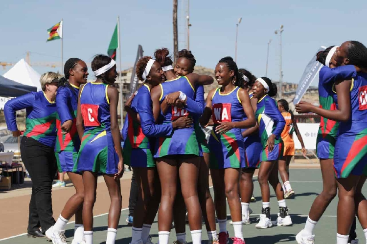 Namibian Netball Team 'Desert Jewels'