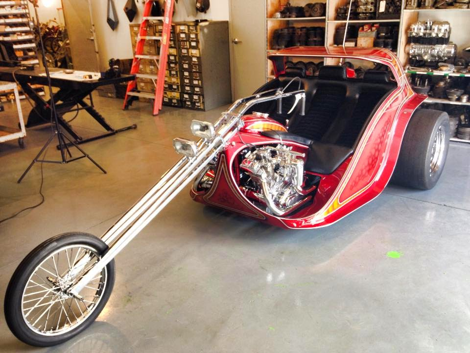 aee choppers  big twin is done