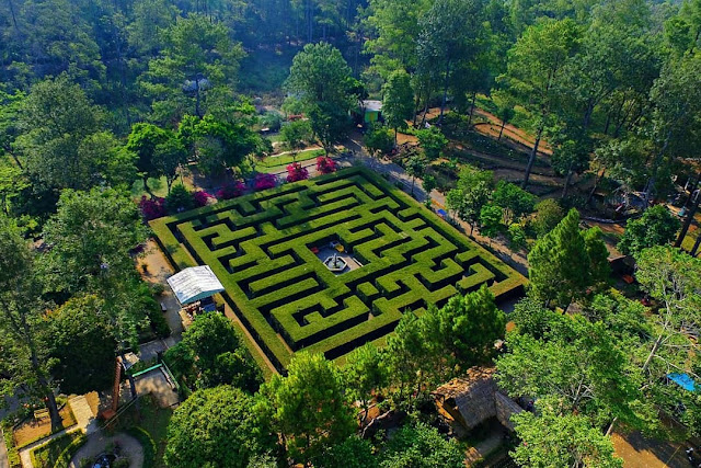 Tiket Masuk Dan Lokasi Taman Labirin Coban Ronda Malang