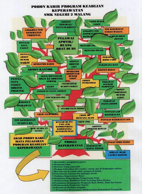 Contoh pohon karir keperawatan