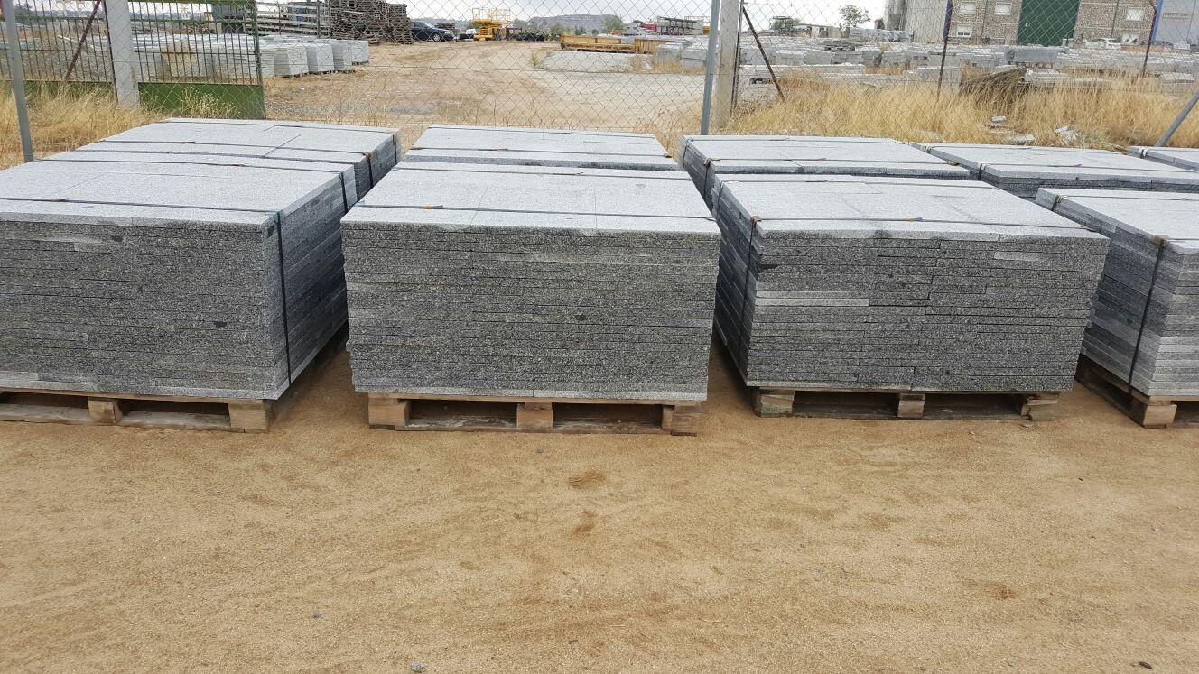 Granito gris quintana ecogran losas o baldosas granito for Precio granito gris