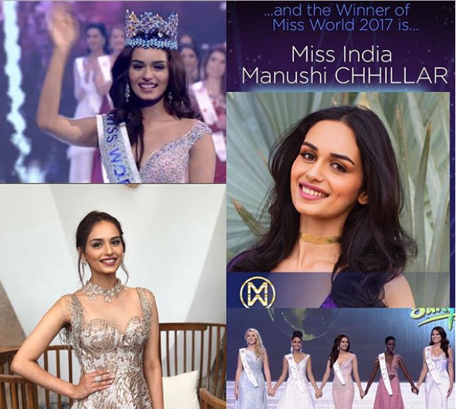 Miss India wins Miss World 2017 pageant