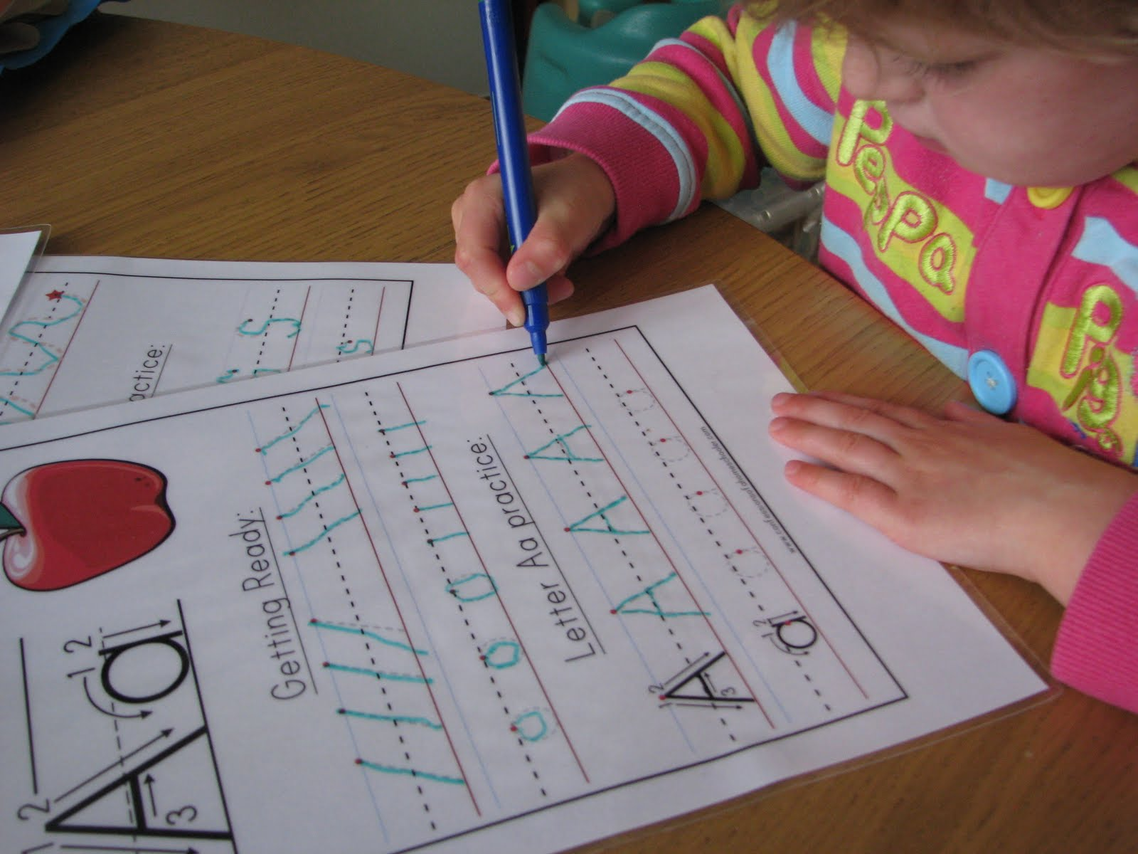 Little Blossoms Letter Formation Practice