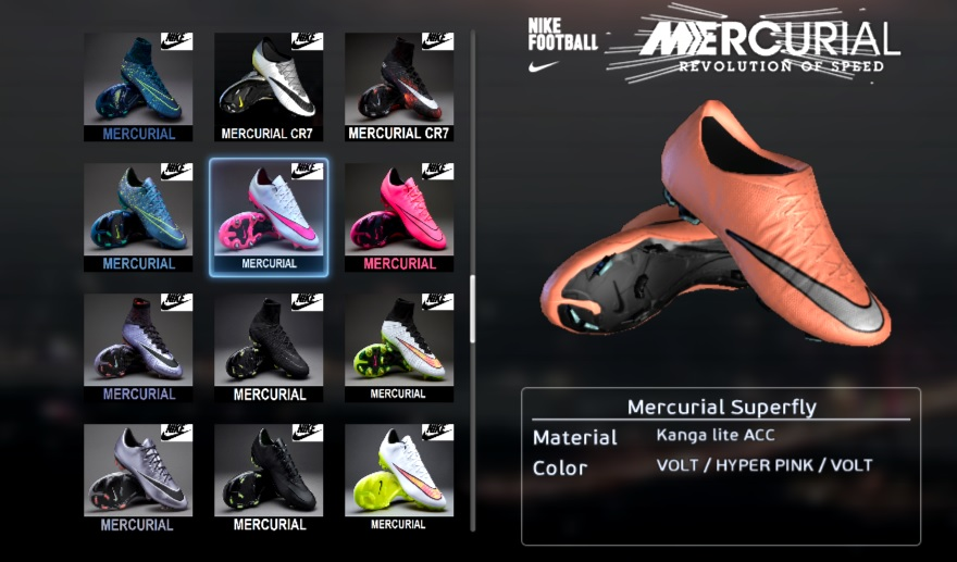 reputable site bb179 aa687 PES 2013 Bright Mango Nike Mercurial Vapor X 2016 Boots by ...