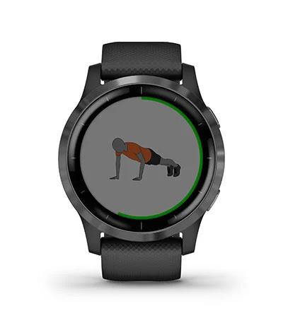 Animasi Workout Garmin Vivoactive 4