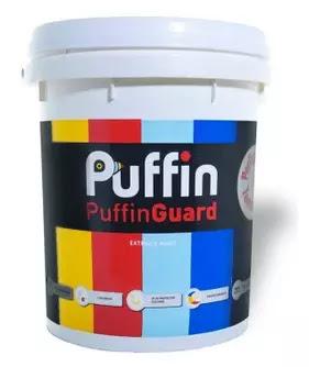 Cat tembok Puffin Guard
