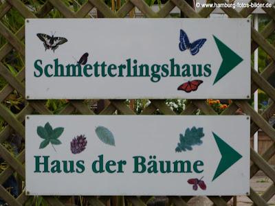 Schmetterlingshaus und Haus der Bäume