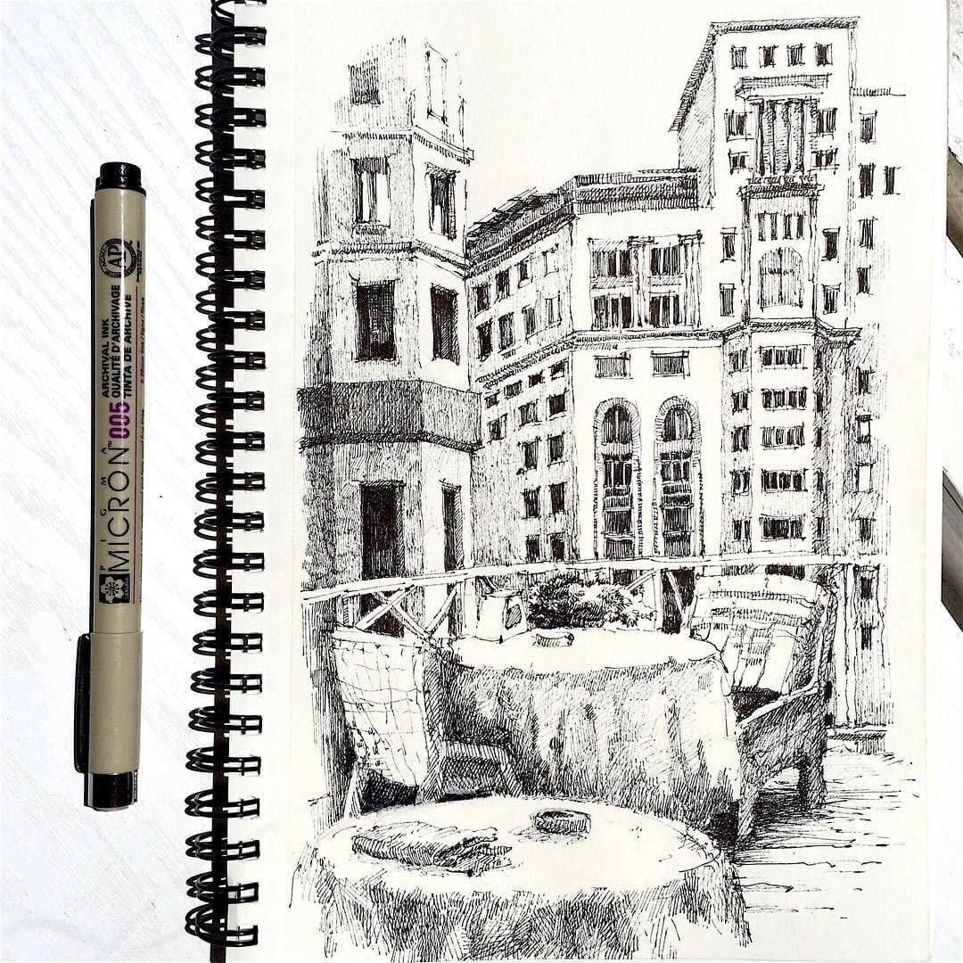 05-Asmik-Babaian-Асмик-Бабаян-Rustic-Architectural-Urban-Sketches-www-designstack-co