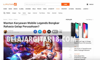 Rahasia Gelap Mobile Legends