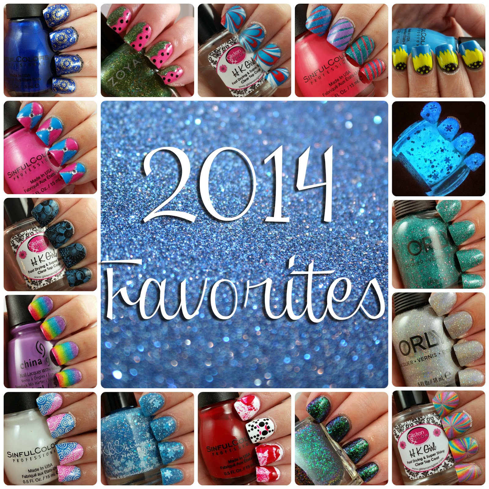 2014 favorite nail art
