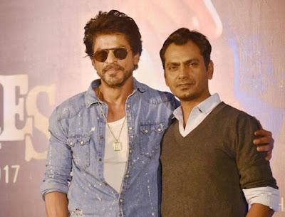 Nawazuddin With Shah Rukh Khan