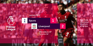Tottenham Hotspur vs Liverpool 1-2 Video Gol & Highlights