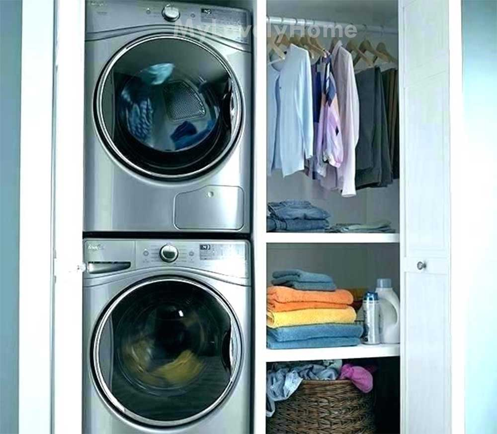 Stackable Washer and Dryer Cabinet - Washing Machine ...