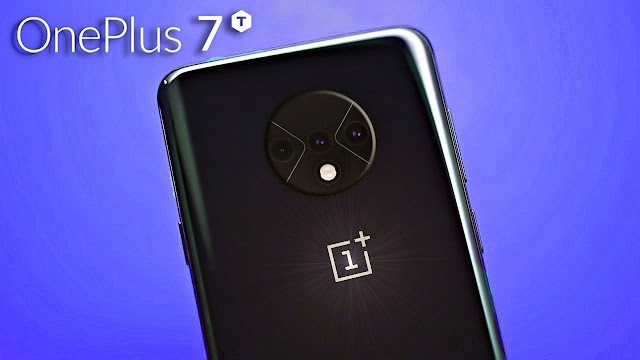 Renders of the smartphone OnePlus 7T