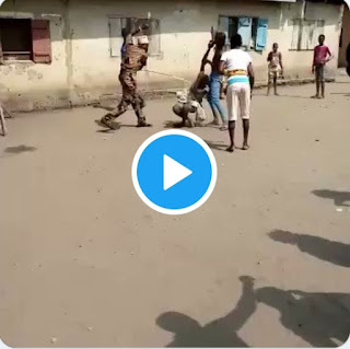 Husband beats 16year old wife after discovering she has been cheating on him. ( Watch video)