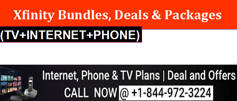 Comcast Internet Deals >> Xfinity Triple Play Package Deals Call Us Now To Know More