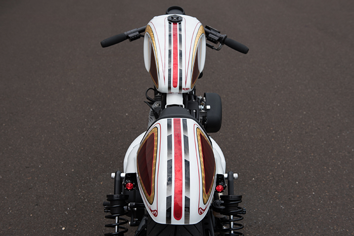 Harley cafe - roland sands design clipons