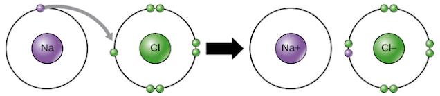 enlace del sodio y cloro