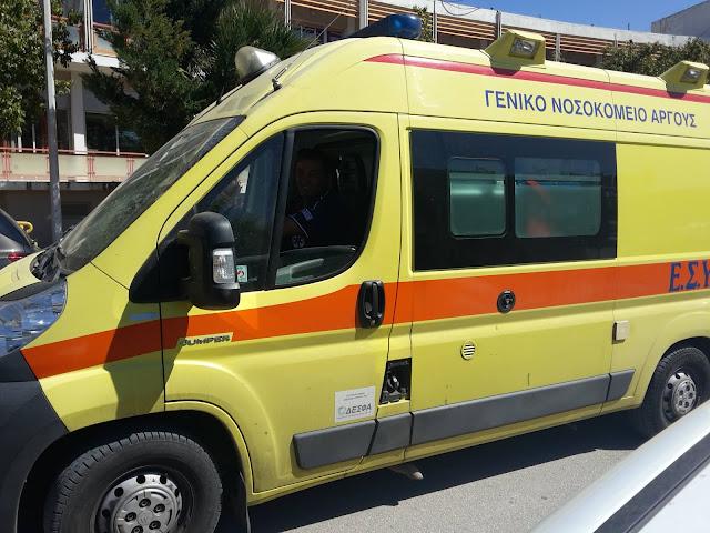 Σύγκρουση αυτοκινήτου με δίκυκλο στο Ναύπλιο - Τραυματίας 70χρονος