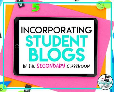 Incorporating class blogging into the secondary ELA classroom