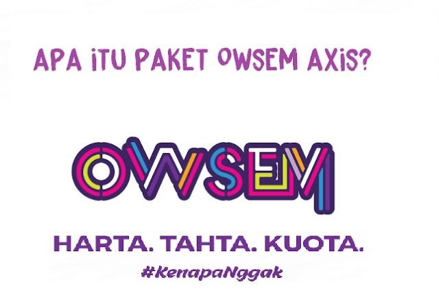 Apa Itu Paket Bronet 4G Owsem Axis ?