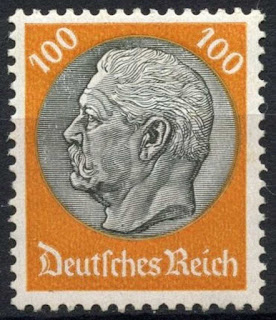 Germany 1933-41 100pf Pres. Von Hindenburg