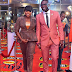 Funke Akindele and JJC (husband) stun at the Headies Awards