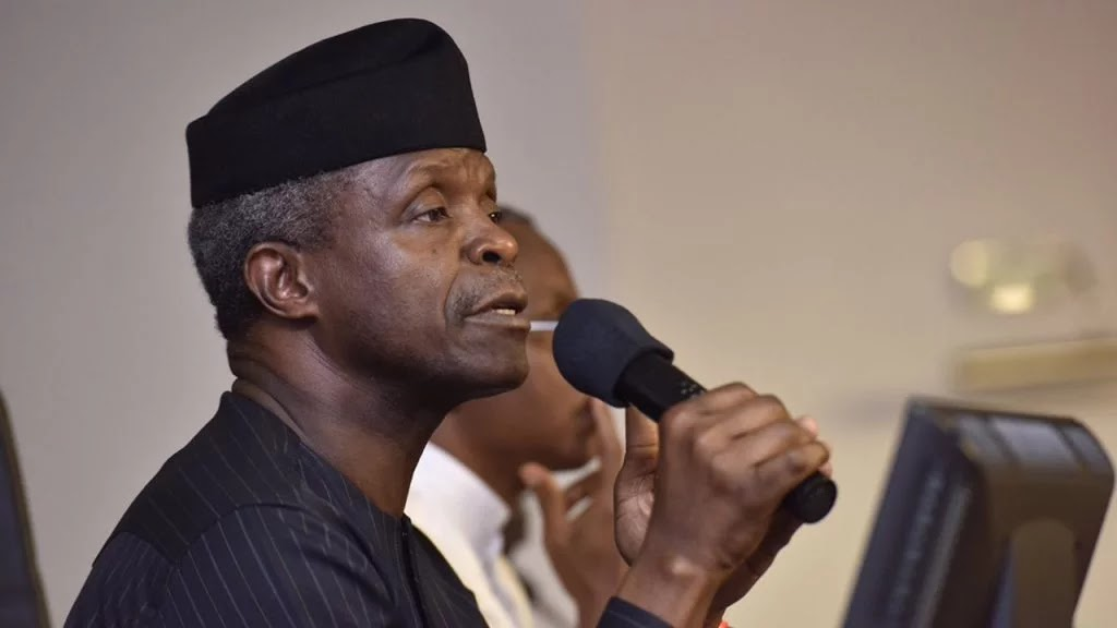 NIPOST: Osinbajo reacts to increment in courier services license #Arewapublisize