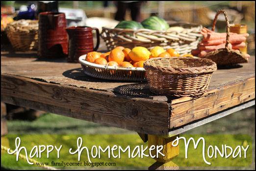 Happy Homemaker Monday - 08/28/2017