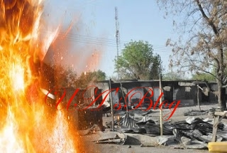 Again, BLOOD Flows In Kaduna As Armed Men Kill 45, Burn Down Entire Community To Ashes