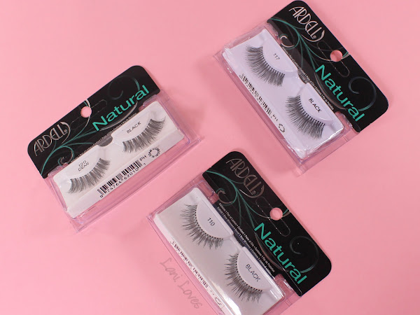Ardell 110, 117 and 120 Demi False Eyelashes Review