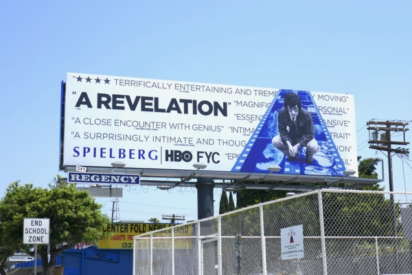 Spielberg documentary HBO 2018 Emmy FYC billboard
