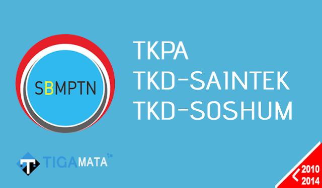 Download Naskah Soal SBMPTN Tahun 2010-2014 (TKPA, SAINTEK, SOSHUM)