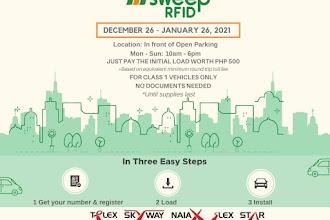 FREE RFID Installation at SM City Urdaneta Central