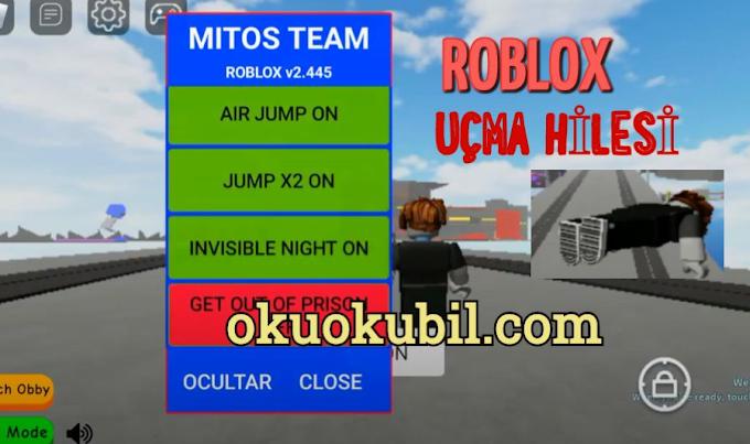 Roblox Mitos Team v2.445 Uçma Hilesi Mod Menu Apk İndir 2020