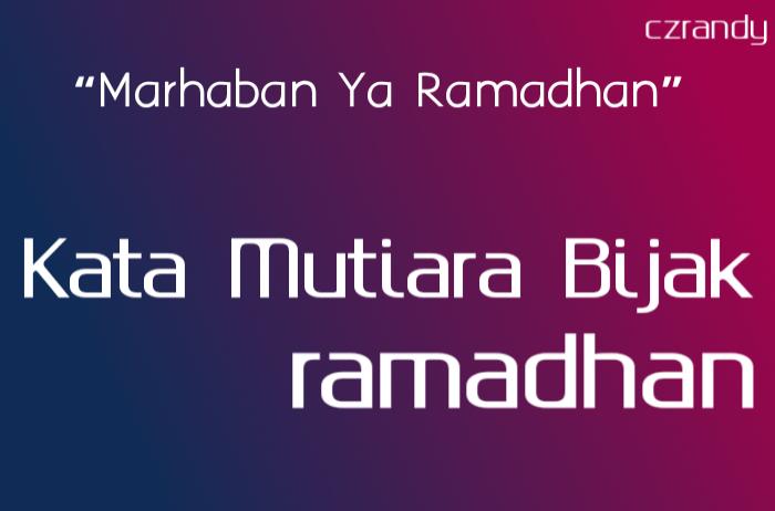 Kata2 Ucapan Bulan Ramadhan 2019 Nusagates
