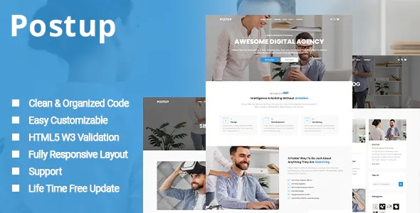 Best One Page Parallax Template