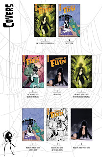 List of all covers for The Shape of Elvira #3 from Dynamite Entertainment