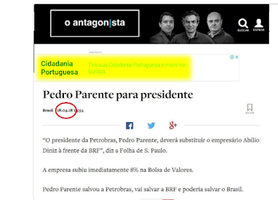 Inteligência artificial ironiza site Antagonista