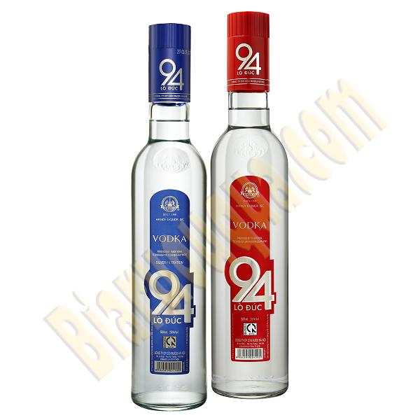 Rượu Vodka 94 Lò Đúc chai xanh 25%