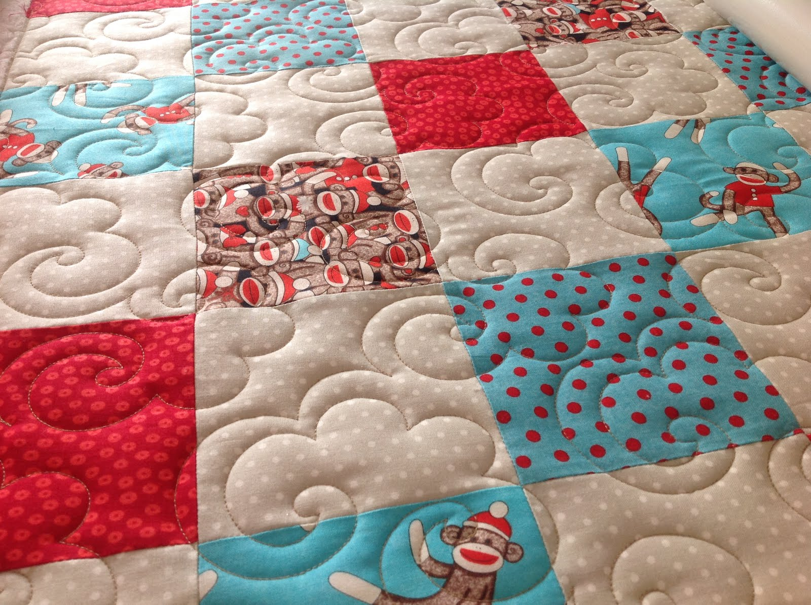 Fabadashery Longarm Quilting Little Caswell Quilt Made By